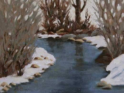 Sharon Abshagen-Sorrel Sky Gallery-Painting-Winter Messages