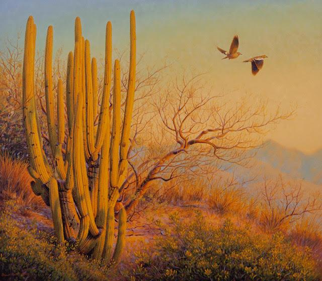 Sonoran Sunrise-Painting-Shawn Gould-Sorrel Sky Gallery