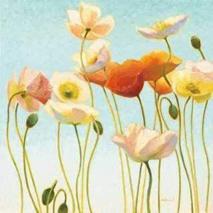 Shirley Novak-Sorrel Sky Gallery-Painting-Just Being Poppies