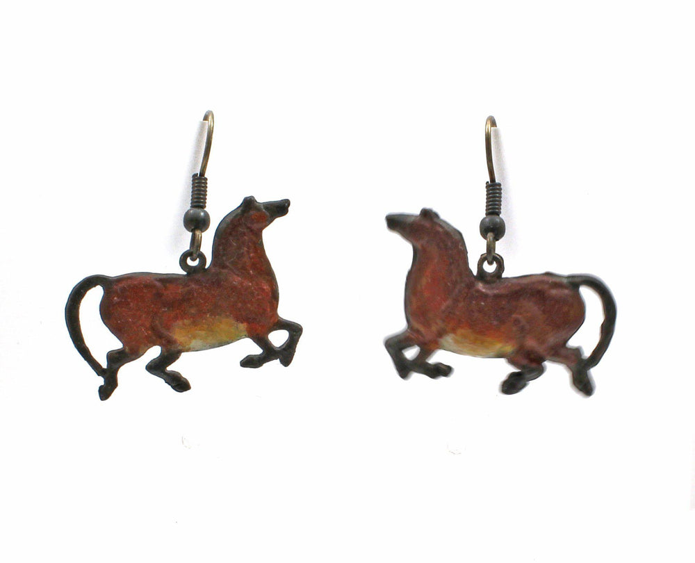 Bronze Mare Earrings