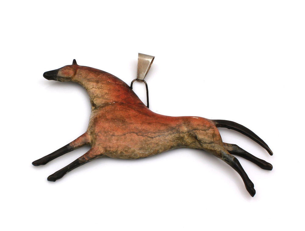 Bronze Stallion Pendant