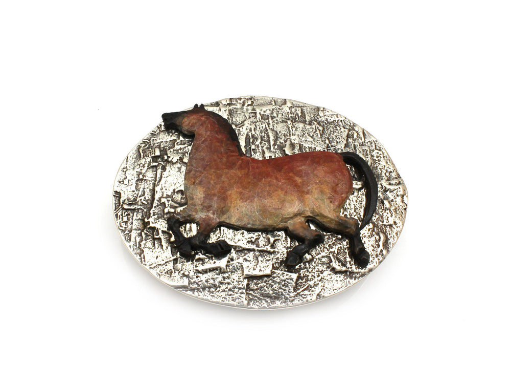 Oval Horse Buckle
