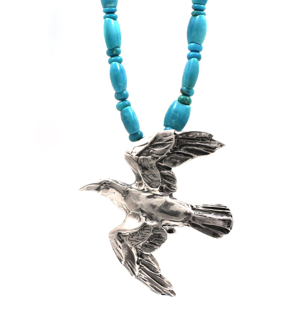Raven Flight Necklace