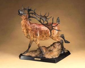 Star Liana York-Call Of the Caribou-Sorrel Sky Gallery-Sculpture