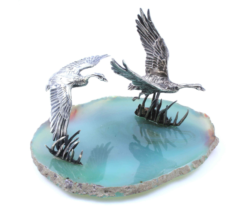 Canada Goose On Agate