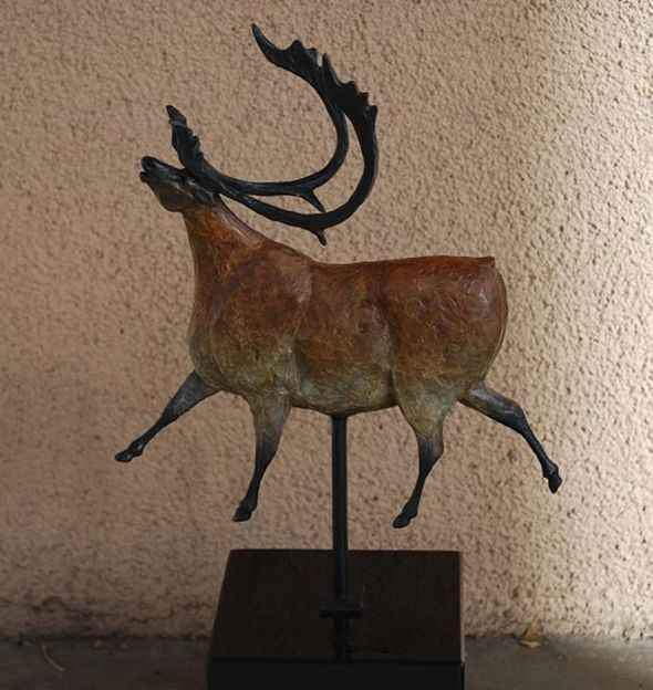 Star Liana York-Caribou Avignon-Sorrel Sky Gallery-Sculpture