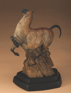 Star Liana York-Dawn Of The Horse-Sorrel Sky Gallery-Sculpture