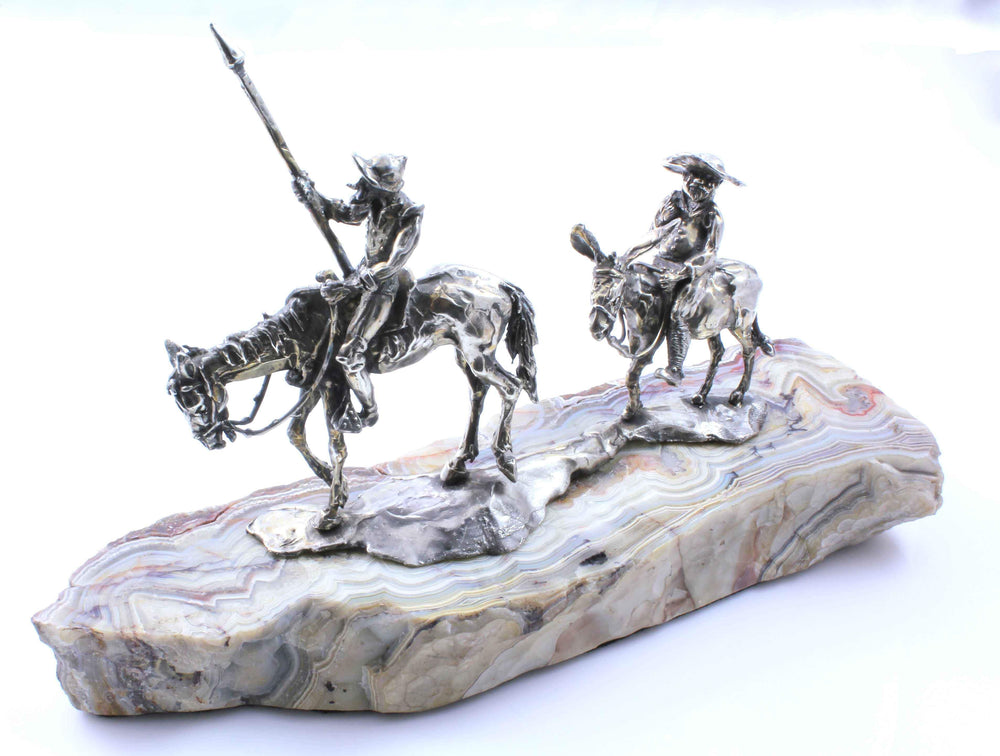 Star Liana York-Don Quixote On Pet Wood-Sorrel Sky Gallery-Sculpture