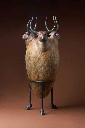 "Dream Urn ""Bull Vessel"""
