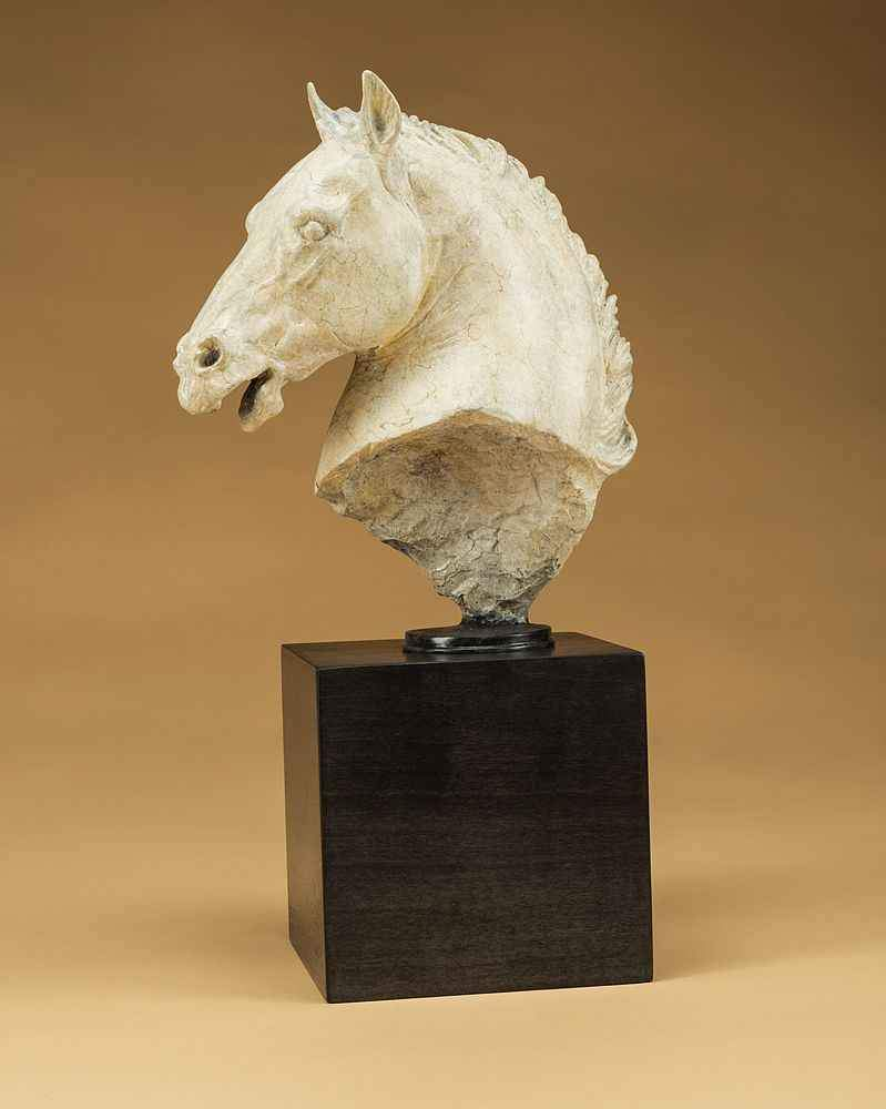 Star Liana York-Greek Horse-Sorrel Sky Gallery-Sculpture