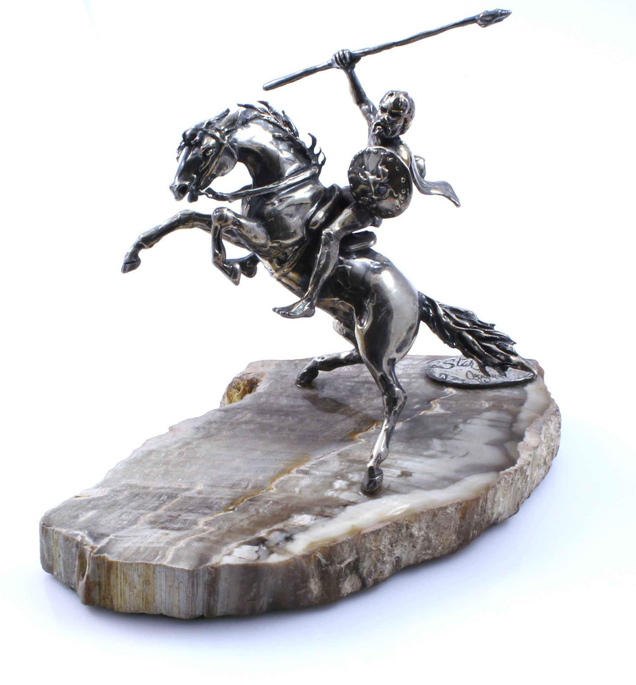 Star Liana York-Judas Maccabeaus On Horse-Sorrel Sky Gallery-Sculpture