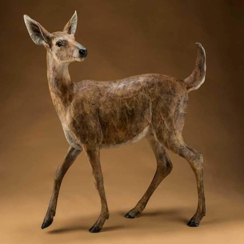 Star Liana York-Key Deer-Sorrel Sky Gallery-Sculpture