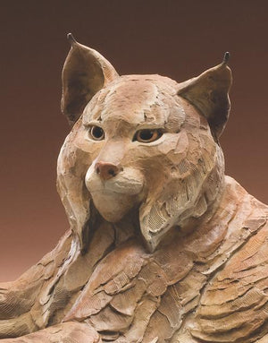 Star Liana York-Missing Lynx-Sorrel Sky Gallery-Sculpture
