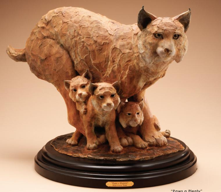 Star Liana York-Paws A Plenty-Sorrel Sky Gallery-Sculpture