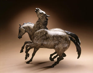 Star Liana York-Stallion Dreams-Sorrel Sky Gallery-Sculpture