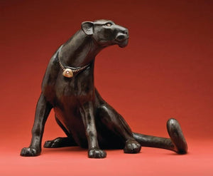 "Star Liana York-Talisman ""Black Jaguar""-Sorrel Sky Gallery-Sculpture"