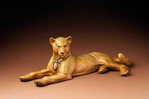 "Star Liana York-Talisman ""Lion Heart""-Sorrel Sky Gallery-Sculpture"