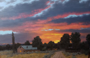 A Peaceful Taos Evening-Painting-Stephen Day-Sorrel Sky Gallery