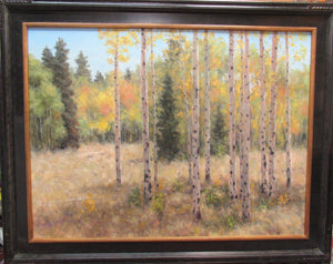 Aspen Meadow - Fall-Painting-Stephen Day-Sorrel Sky Gallery