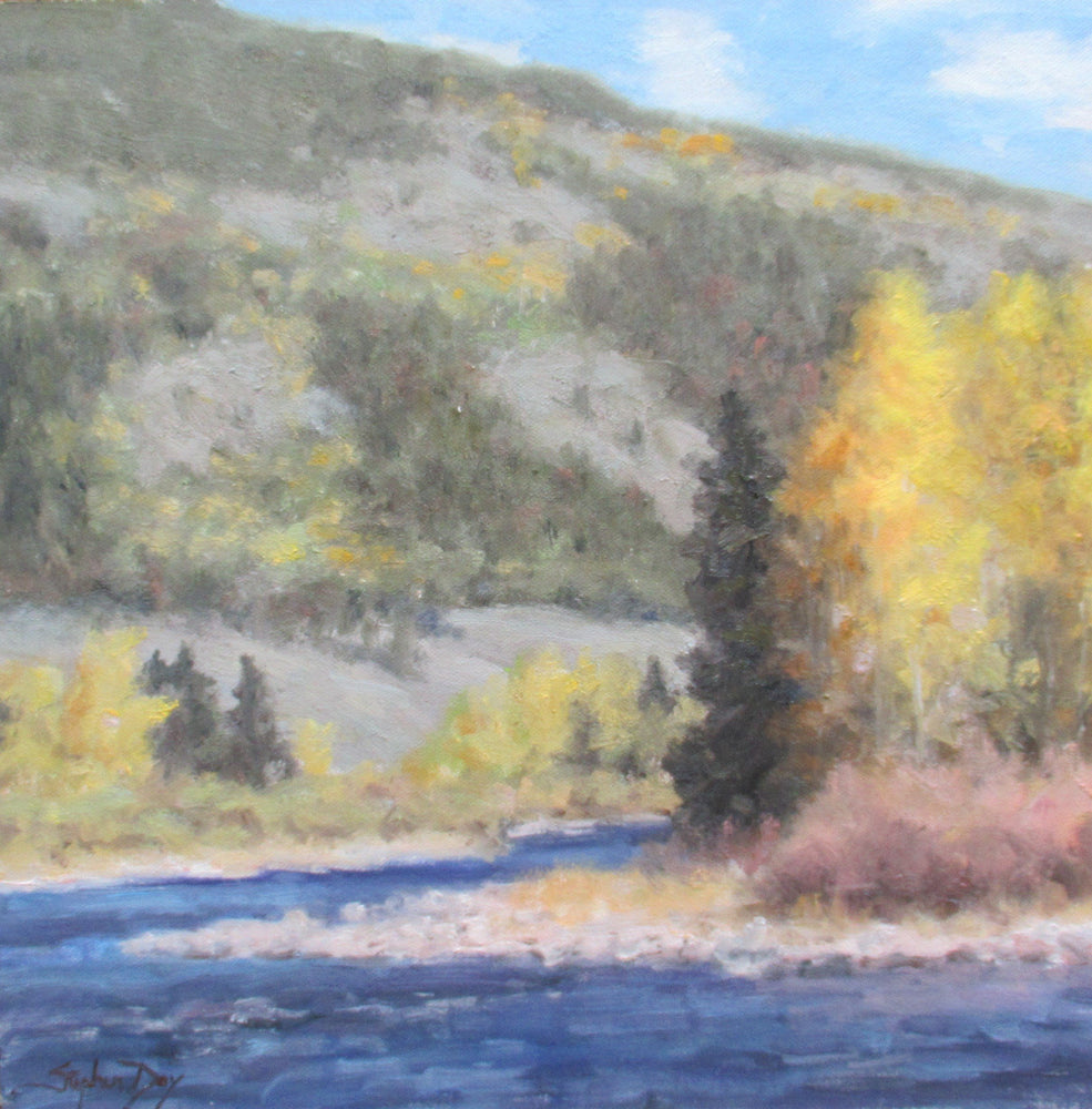 Blue River-Painting-Stephen Day-Sorrel Sky Gallery