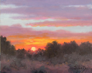 Brilliant Evening Sun-Painting-Stephen Day-Sorrel Sky Gallery