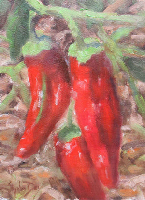 Stephen Day-Chili Peppers-Sorrel Sky Gallery-Painting