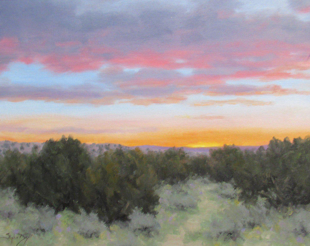 Evening Harmony-Painting-Stephen Day-Sorrel Sky Gallery