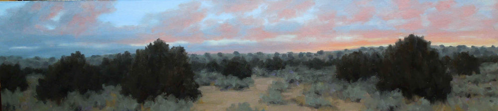 Stephen Day-Evening Sky With Pinkish Clouds-Sorrel Sky Gallery-Painting
