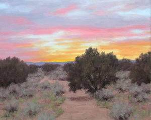 Stephen Day-Evening's Final Display-Sorrel Sky Gallery-Painting