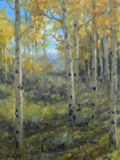 Stephen Day-Fall Display-Sorrel Sky Gallery-Painting