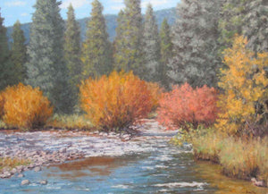 Stephen Day-Fall Stream-Sorrel Sky Gallery-Painting