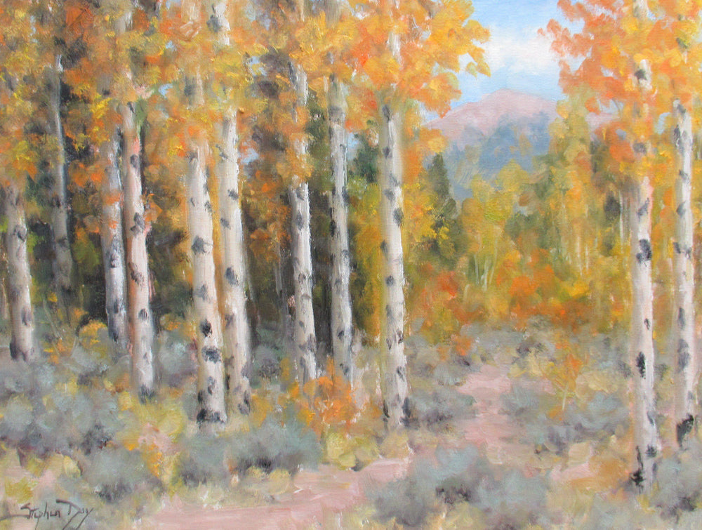 Fall Study-Painting-Stephen Day-Sorrel Sky Gallery