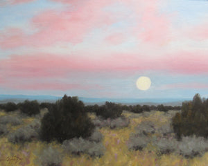 February Moon-Painting-Stephen Day-Sorrel Sky Gallery