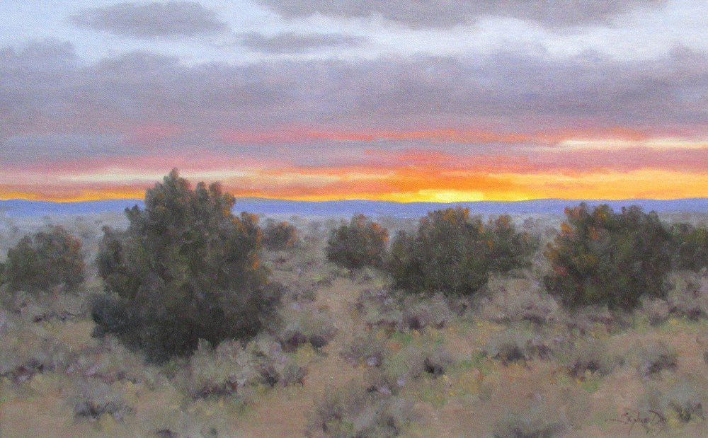 Fleeting Color Near Santa Fe-Painting-Stephen Day-Sorrel Sky Gallery