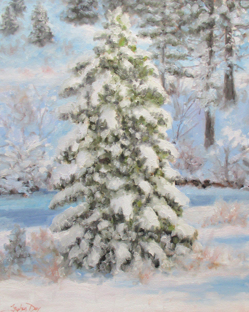 Fresh Snow-Painting-Stephen Day-Sorrel Sky Gallery