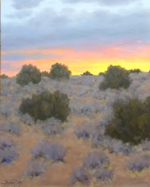 Hilltop Sunset-Painting-Stephen Day-Sorrel Sky Gallery