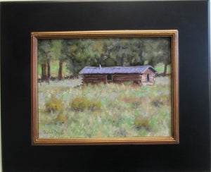 Homesteader's Cabin-Painting-Stephen Day-Sorrel Sky Gallery