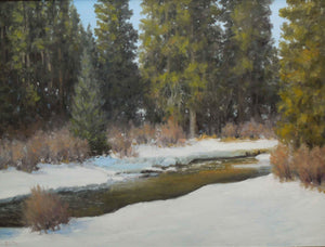 Stephen Day-Late Winter Thaw-Sorrel Sky Gallery-Painting