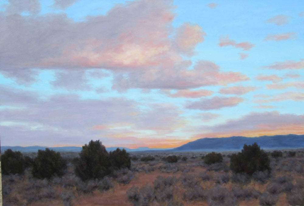 Light Filled Sky - New Mexico