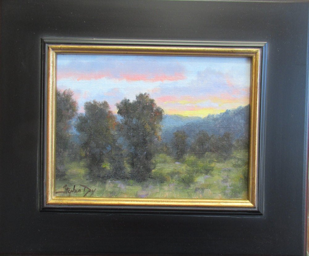Mountain Valley Evening-Painting-Stephen Day-Sorrel Sky Gallery