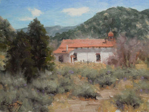 Stephen Day-New Mexico Church-Sorrel Sky Gallery-Painting