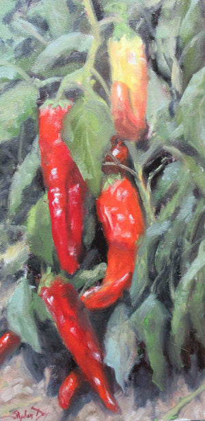 Stephen Day-New Mexico Peppers-Sorrel Sky Gallery-Painting