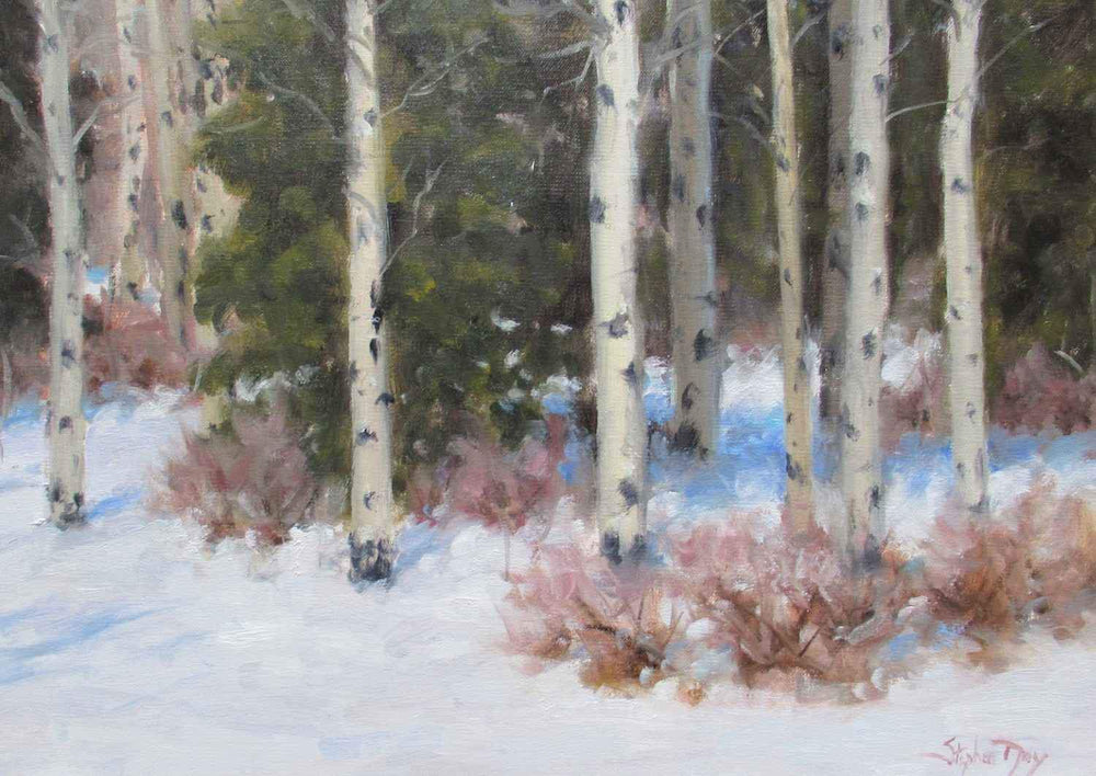 Stephen Day-November Snow-Sorrel Sky Gallery-Painting