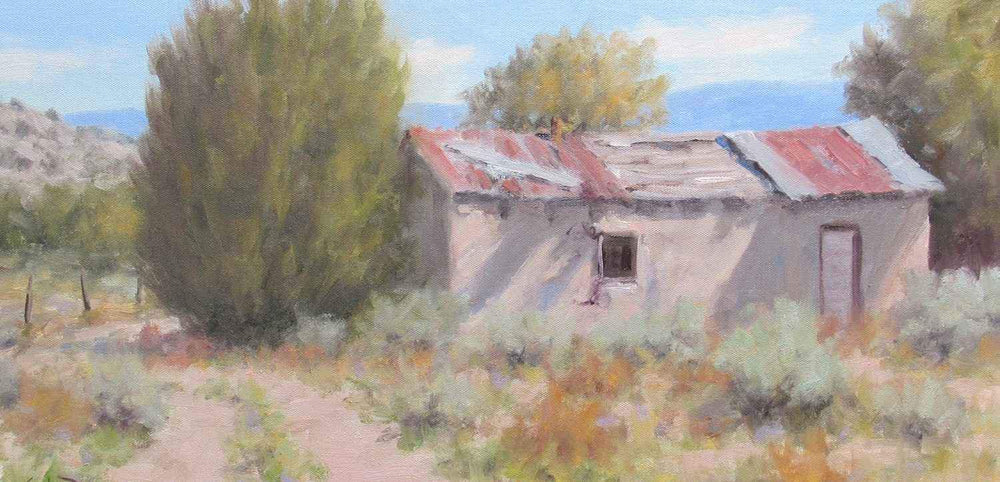 Stephen Day-Old Adobe-Sorrel Sky Gallery-Painting