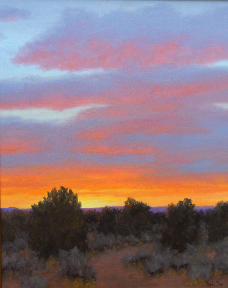 On the Way to Santa Fe-Painting-Stephen Day-Sorrel Sky Gallery