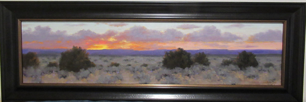 Panoramic Evening View-Painting-Stephen Day-Sorrel Sky Gallery
