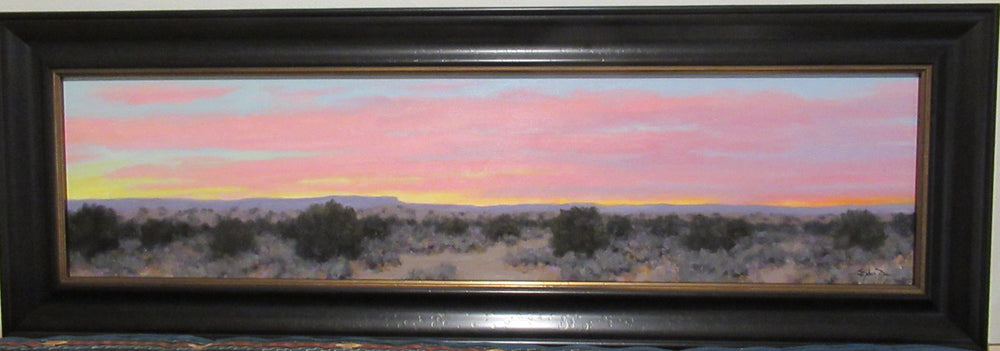 Pink Sky - Sunrise-Painting-Stephen Day-Sorrel Sky Gallery