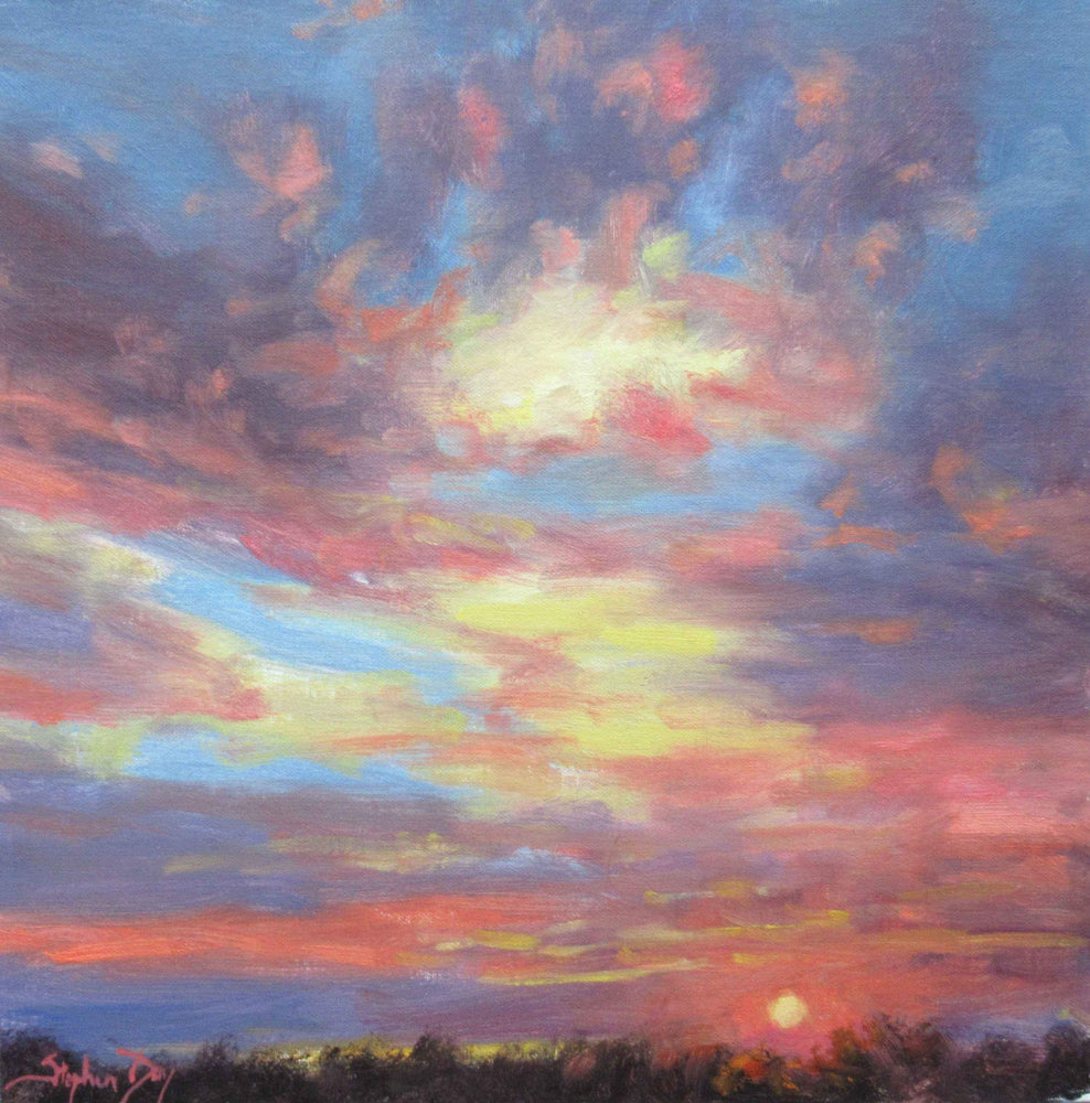 Stephen Day-Sky Sketch-Sorrel Sky Gallery-Painting