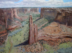 Stephen Day-Spider Rock – Summer View-Sorrel Sky Gallery-Painting