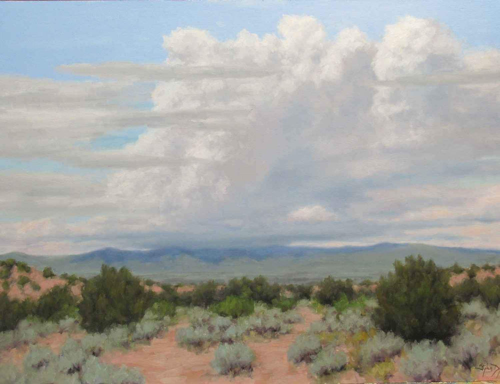 Summer Clouds – Near Santa Fe
